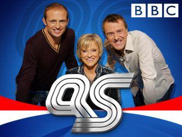 Question of sport, Sue Barker, Phil tuffnell, Matt Dawson