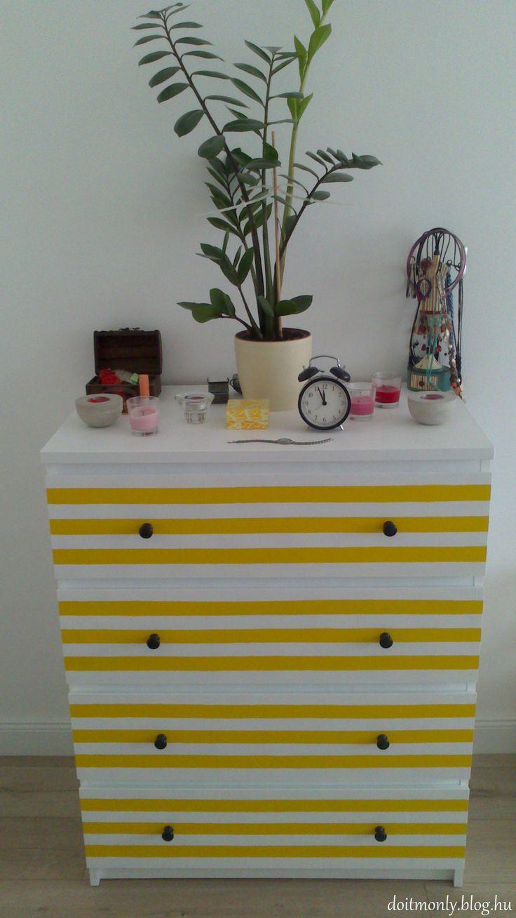 Ikea Malm hack by Monika Tobias. http://doitmonly.blog.hu