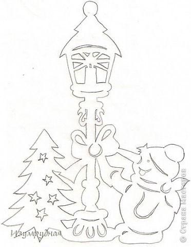 Украшение окон на Рождество и Новый год. И трафареты.