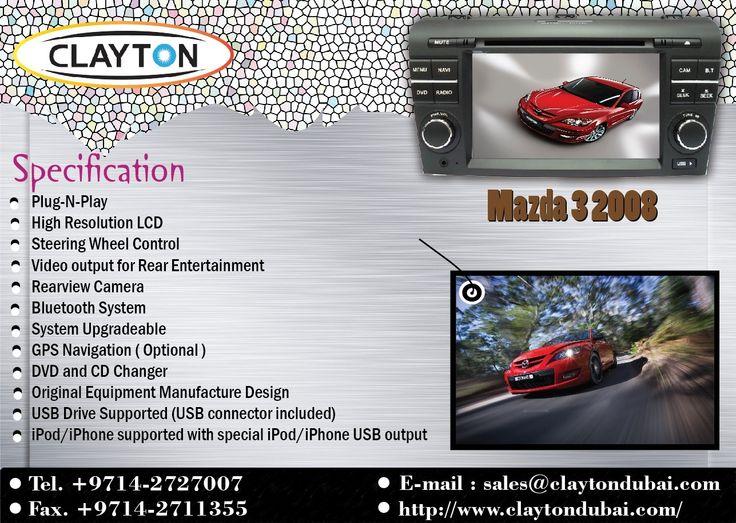 Mazda 3 2008 http://www.claytondubai.com/
