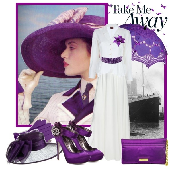 """""""Take Me Away"""" inspired by Rose's beautiful  wardrobe.    Created by: Sneky on Polyvore.com"""