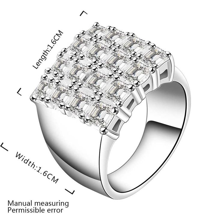Wholesale Free Shipping silver plated Ring,silver plated Fashion Jewelry web cheans Ring SMTR479