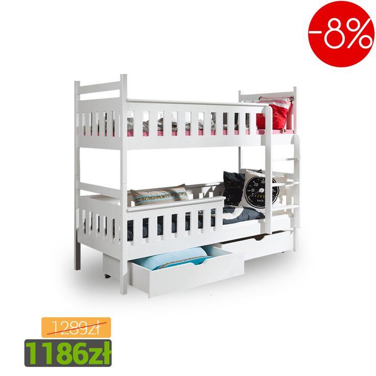 Bed into a room for children. We have the cheapest! SALE% Łóżko do pokoju dziecięcego! Mamy najtaniej! Promocja. #sale #bed #kids #room #home #mirjan24