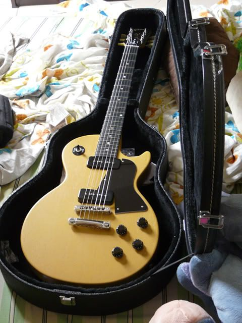 2009 Gibson Les Paul jr Special TV yellow - MyLesPaul.com