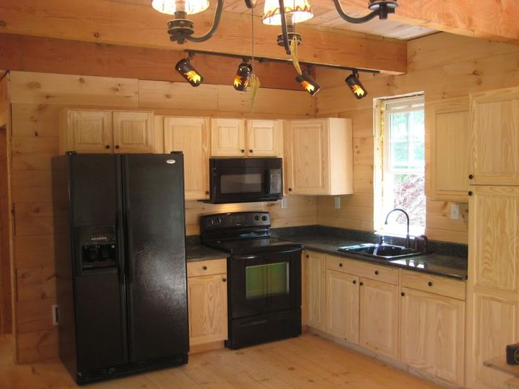 design ideas for small kitchens high top kitchen table set dave and kim's 1 1/2 story 20x40 cabin pics | ...