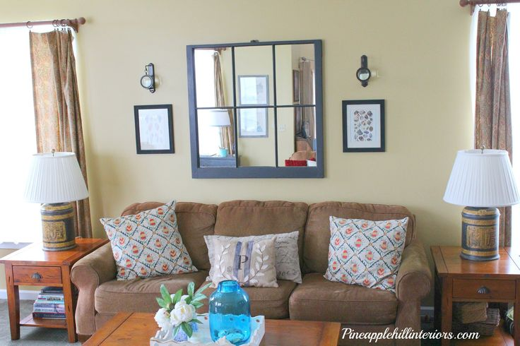 Best 25 Mirror Over Couch Ideas On Pinterest Over Couch