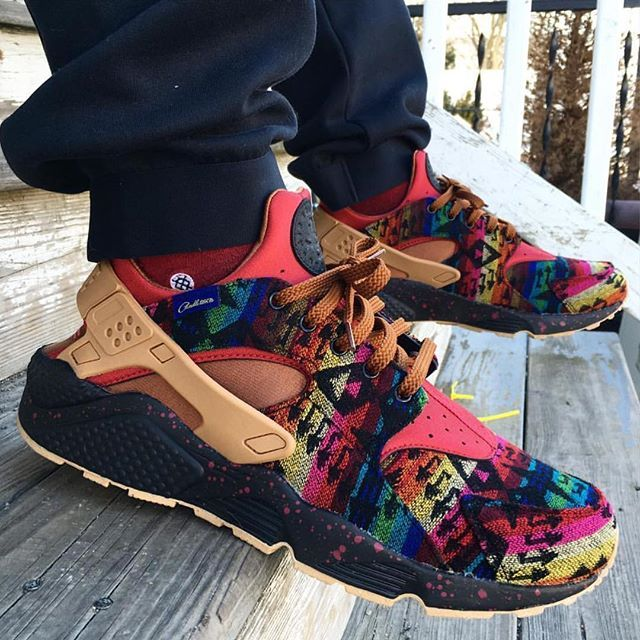 Pendleton Nike Huarache iDs. Did you make a pair?