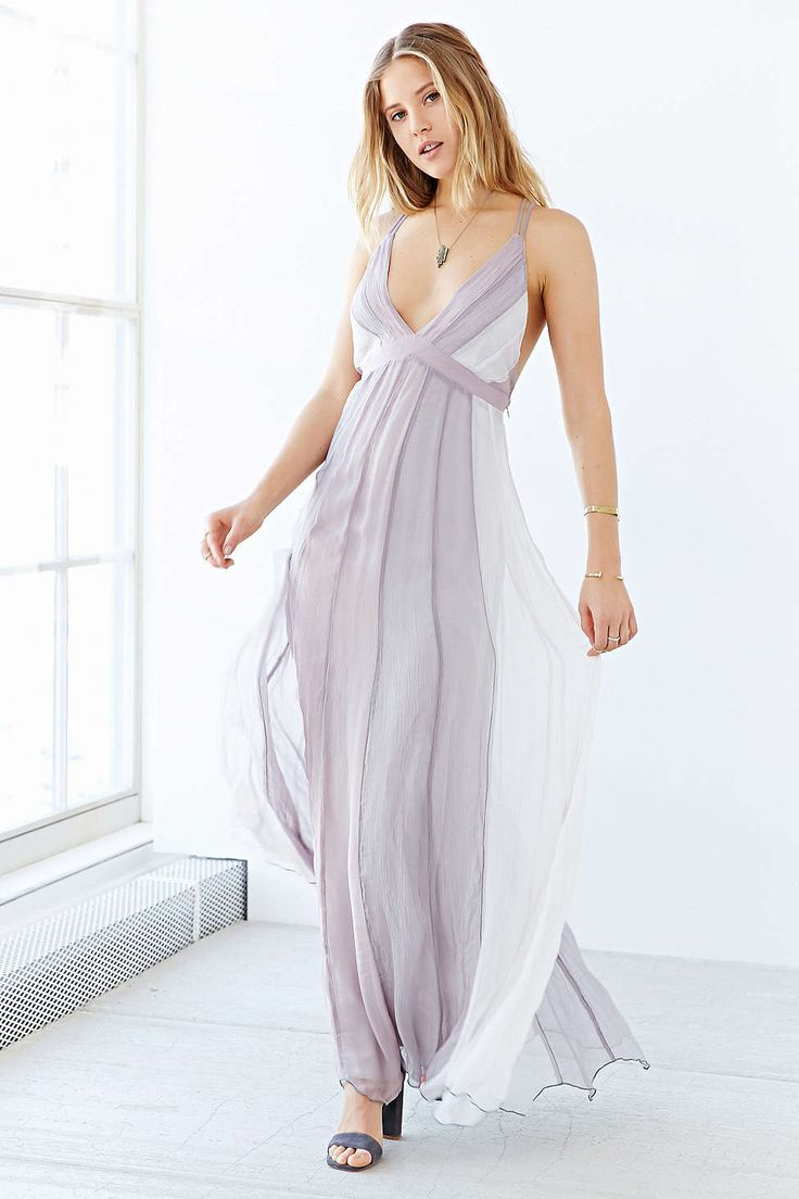 Kimchi blue stormy deluxe maxi dress for Urban outfitters wedding dresses