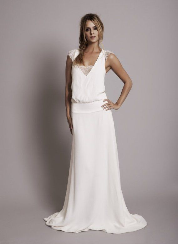 Mariage: Une robe bohème chic grâce à Rime Arodaky
