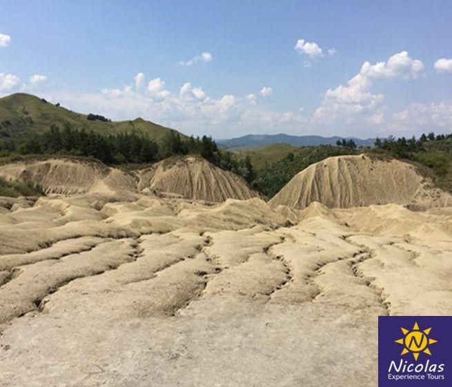 Private Tour to Mud Volcanoes Romania