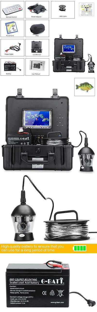 Underwater Cameras 180000: Underwater Fishing Camera 360 Degrees 1/3 Inch Sony Ccd 600Tvl Remote Control BUY IT NOW ONLY: $495.0