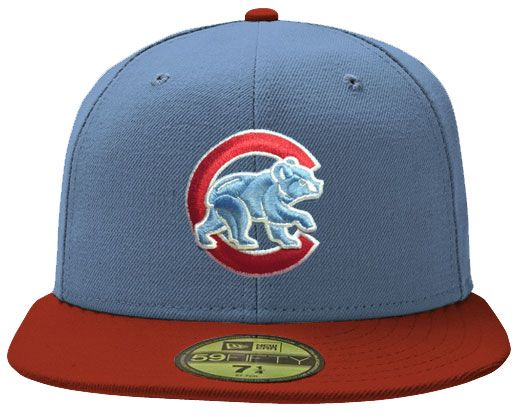 Chicago Cubs Chicago Flag 59Fifty Cap by New Era | Sports World Chicago $37.95