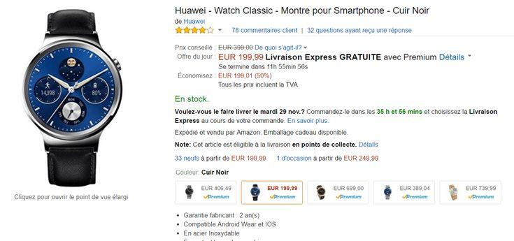 🔥 Bon plan Black Friday : Huawei Watch Classic à 199 euros au lieu de 399 euros - http://www.frandroid.com/bons-plans/bons-plans-objets-connectes/393099_%f0%9f%94%a5-bon-plan-black-friday-huawei-watch-classic-a-199-euros-au-lieu-de-399-euros  #Bonsplans, #Bonsplansobjetsconnectés, #Montresconnectées