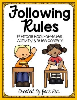 asics gel nimbus review Following Rules First Grade Book of Rules Activity and Posters