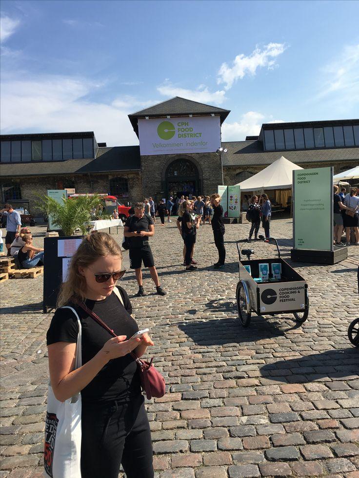 Aug 2016. Foodmarket med Cathrine. Vesterbro.