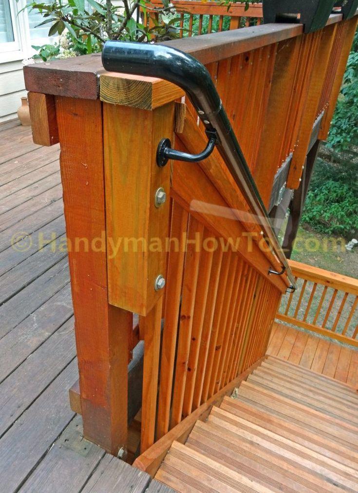 Best Stair Wood Deck Posts Stair Rebuild Ndash Newel Post And 640 x 480