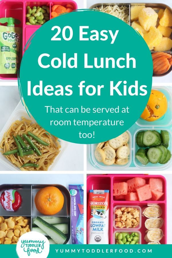 20 Easy Cold Lunch Ideas For Kids That Work At Room Temp Recipe In 2020 Cold Lunches Cold Lunch Ideas For Kids Healthy Cold Lunches