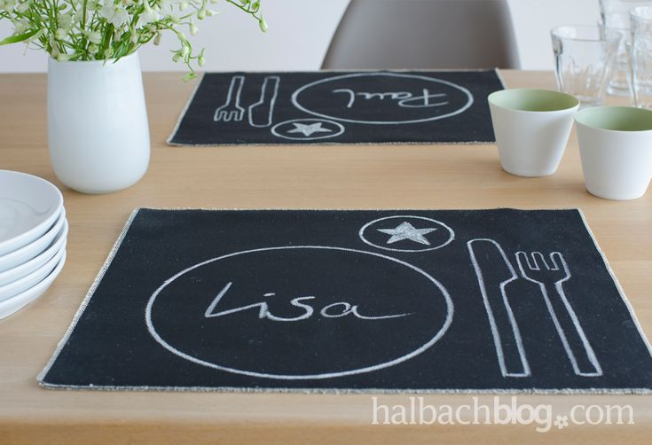 die besten 25 tischsets stoff ideen auf pinterest tischset n hen tischset diy und tischset. Black Bedroom Furniture Sets. Home Design Ideas