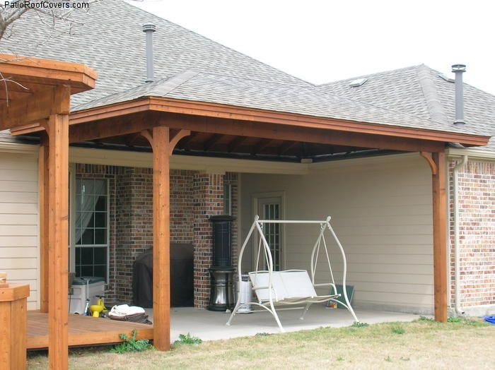 L Shaped Ranch Front Porch