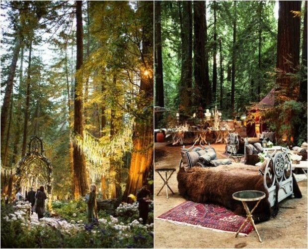 Nunta in pădure