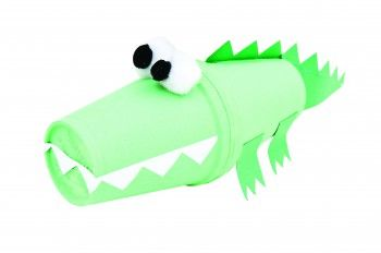 Crocodile Cup Character Craft Activity