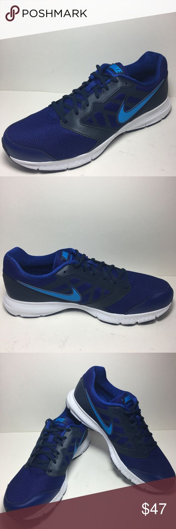 NIKE DOWNSHIFTER 6 DEEP ROYAL BLUE RUNNING Sneaker NIKE DOWNSHIFTER 6 DEEP ROYAL BLUE RUNNING SNEAKER 684652 003 100% AUTHENTIC  SIZE: 13 COLOR: Deep Royal Blue Flex grooves promote a more efficient Natural range of motion through toe-off Rubber outsole delivers durability and traction Nike Shoes Sneakers