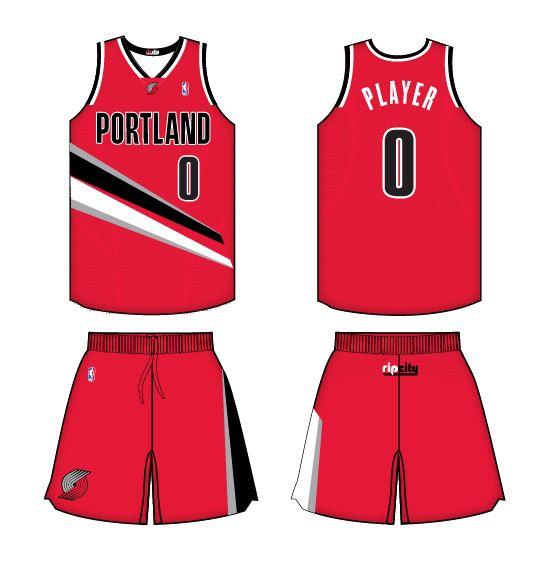 Portland Trail Blazers New Uniforms: 21 Best Images About Portland Trailblazers All Jerseys Ad
