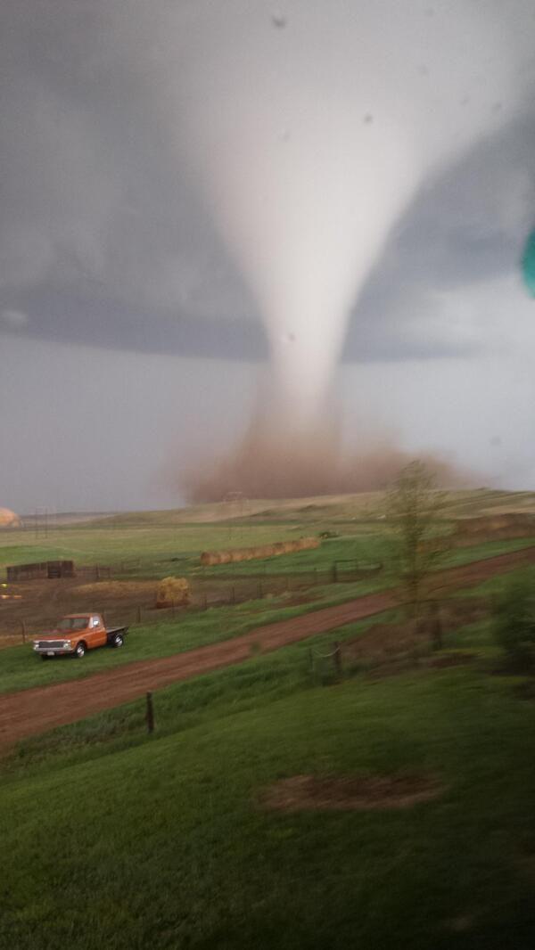 Tornado, May 2014 ~ Watford City, North Dakota