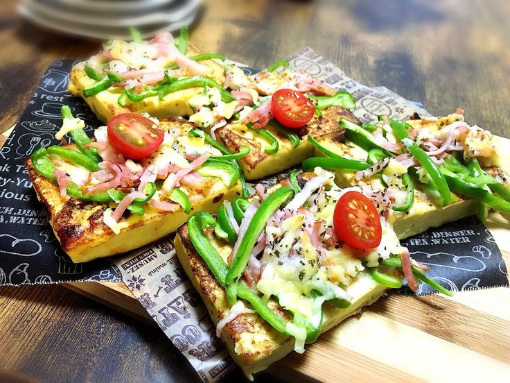 MEG♀ 公式ブログ - 高野豆腐でフレンチトースト×ピザ。ヘルシーレシピ。 - Powered by LINE