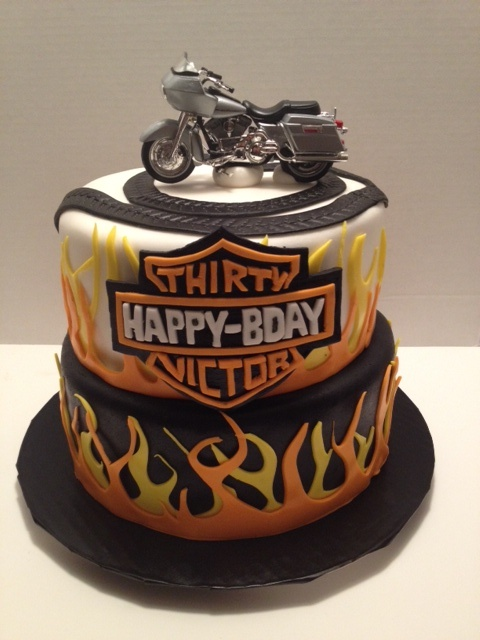 Harley Davidson Cake, Awesome! Have your cake and eat it too, with plexus Slim & Accelerator. www.thinagain.myplexusproducts.com