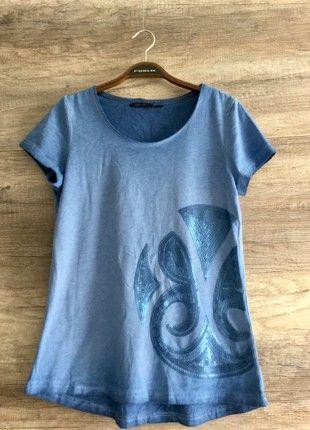 Kaufe meinen Artikel bei #Kleiderkreisel http://www.kleiderkreisel.de/damenmode/t-shirts/158426149-zauberhaftes-glitzer-pailletten-damen-shirts-top-sexy-neu-gr-s-m-36-38-blau