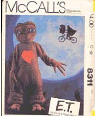 Halloween Costume E.T - The Vintage Village