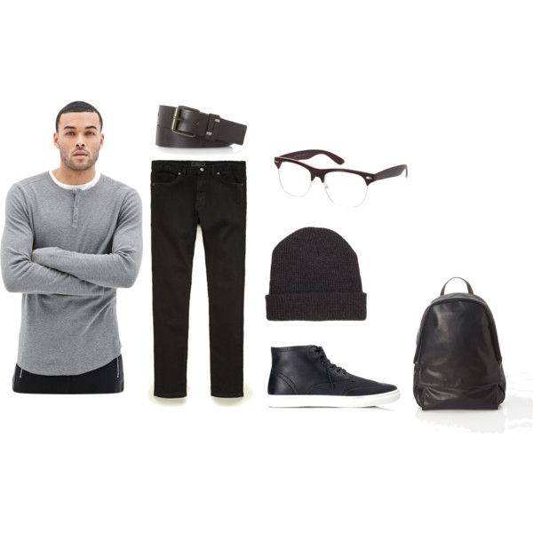 """Monochromatic"" by monikazajac on Polyvore"