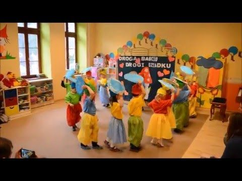 Taniec Krasnoludków w Przedszkolu Bajlandia w Cieszynie