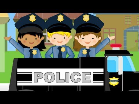 ▶ ABC Police Car Song - Lullaby / Nursery Rhyme for Kids in 1080 HD - YouTube