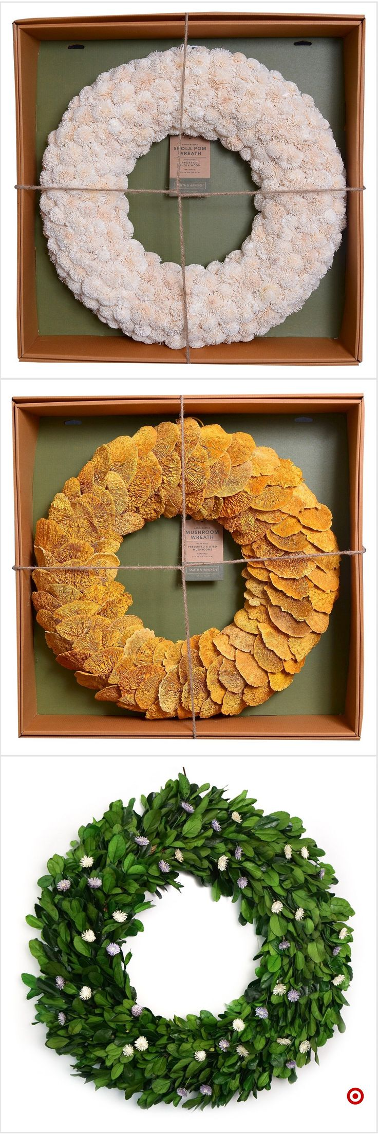 Shop Target for dried wreath you will love at great low prices. Free shipping on orders of $35+ or free same-day pick-up in store.