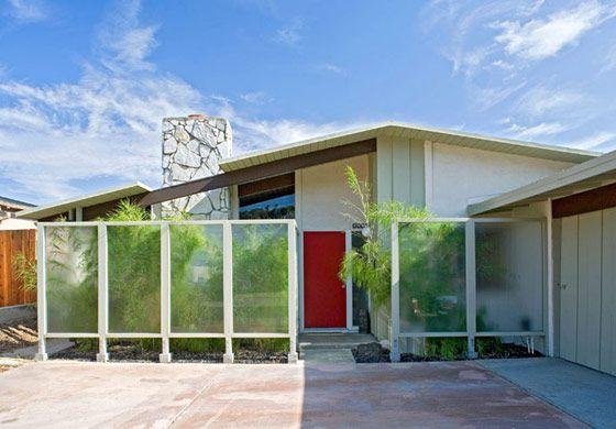 Les 331 meilleures images à propos de Mid-Century Modern sur - peinture de facade maison