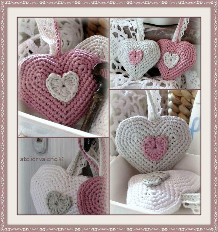 Atelier Valerie ♥: Brocante Lavendelhartjes
