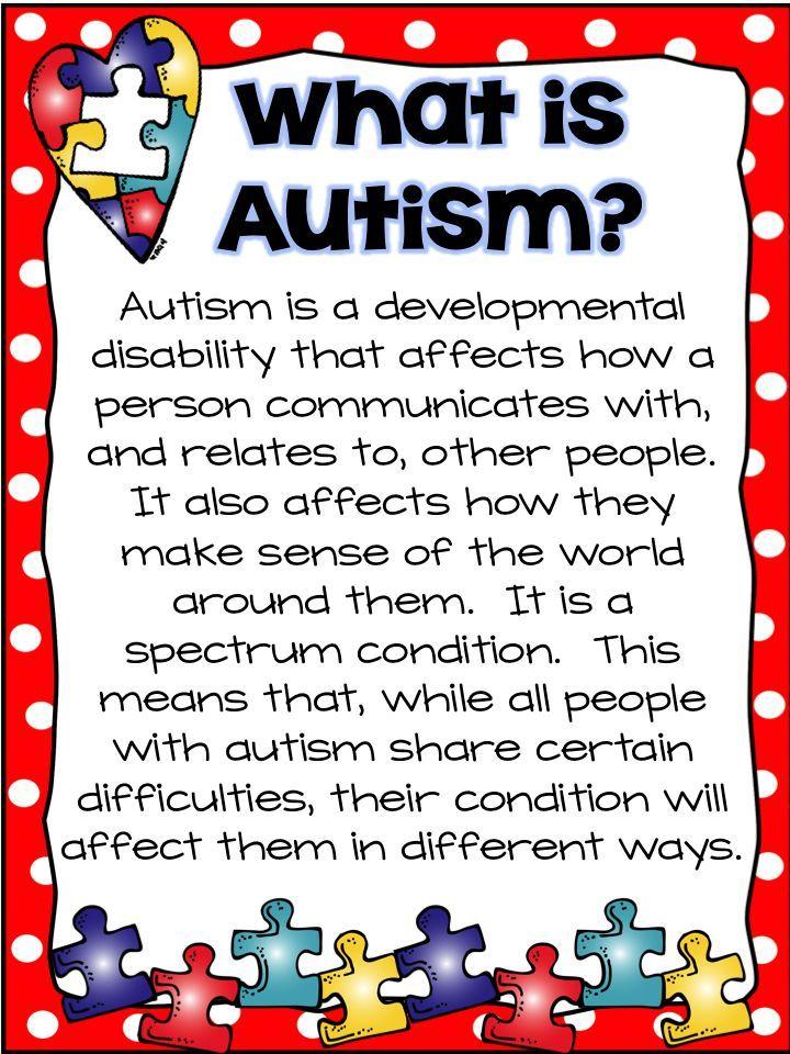 National Autism Awareness Month ~ A Traveled Teacher