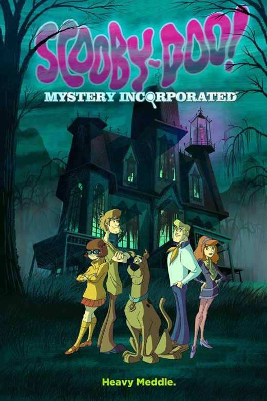 Scooby-Doo! Mystery Incorporated 27x40 TV Poster (2010)