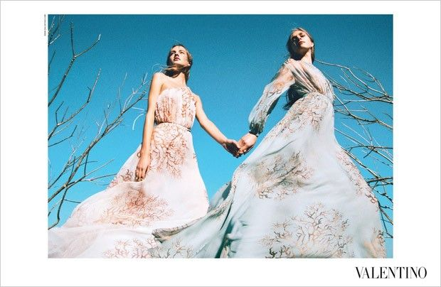Valentino Spring Summer 2015 by Michal Pudelka