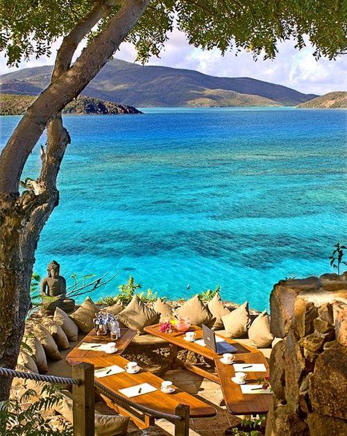 Wonderful Necker Island of British Virgin Islands