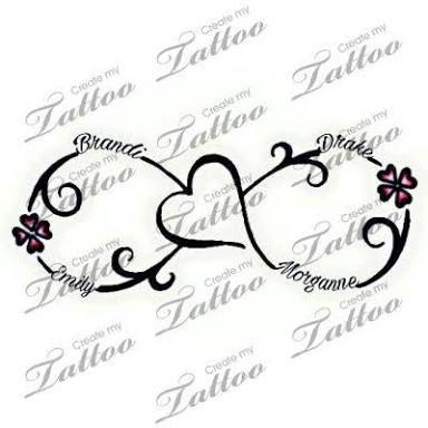 Image result for children's names tattoos for women – Valerie Funk