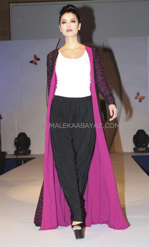 open lace coat black lace. modest muslimwear. modestfashion. – Maleka Abayaz