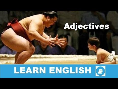 Learn English Vocabulary - Adjectives 1 - E ANGOL