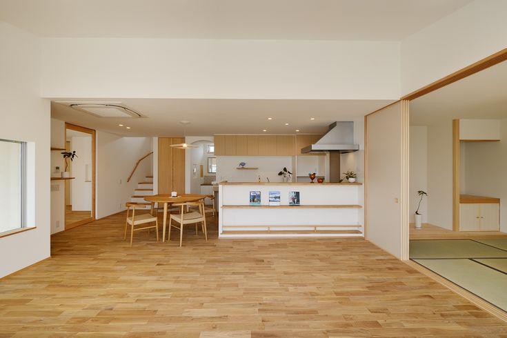 豊橋 牛川町の家 Se構法でつくる広々リビング Se構法 Kotori Kotori