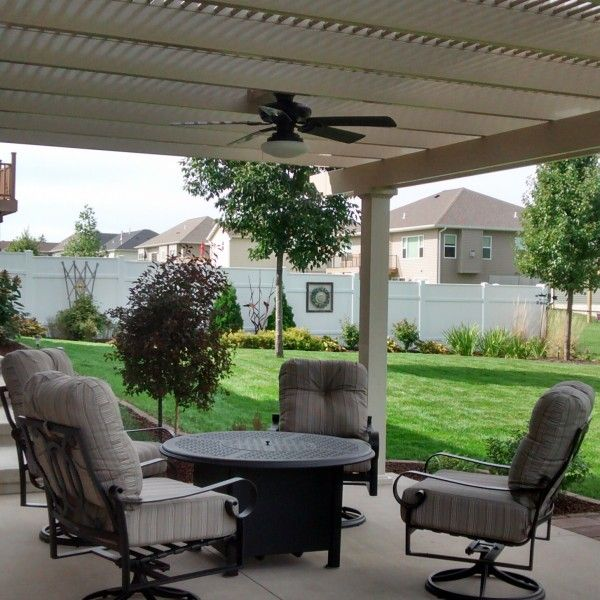 Attached 12 X 12 Pergola Kit White Vinyl W Aluminum Frame 5 Square Posts 75 Shade By Zen Pergolas Pergola Kits Pergola White Vinyl