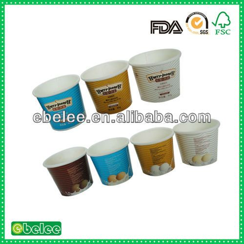 3.5oz wholesale ice cream container take away $0.01~$0.02