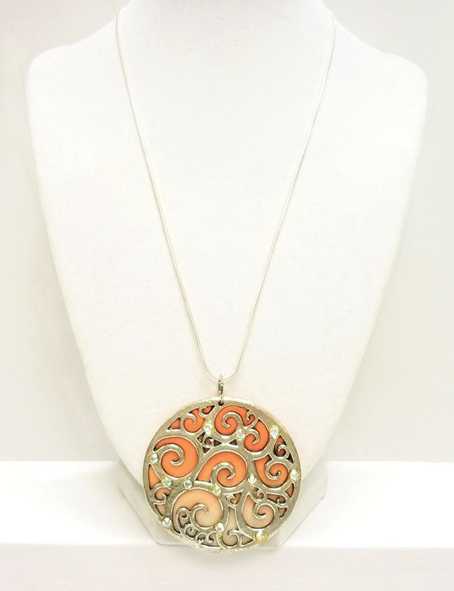 How to make a polymer clay focal pendant