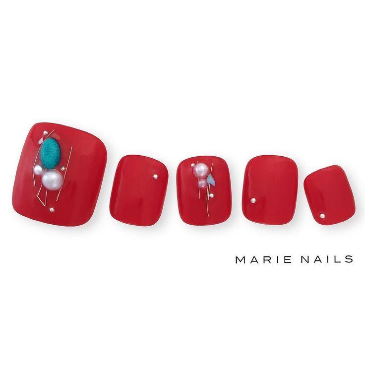 #マリーネイルズ #marienails #ネイルデザイン #かわいい #ネイル #kawaii #kyoto #ジェルネイル#trend #nail #toocute #pretty #nails #ファッション #naildesign #ネイルサロン #beautiful #nailart #tokyo #fashion #ootd #nailist #ネイリスト #ショートネイル #gelnails #instanails #newnail #red #pedicure #秋ネイル